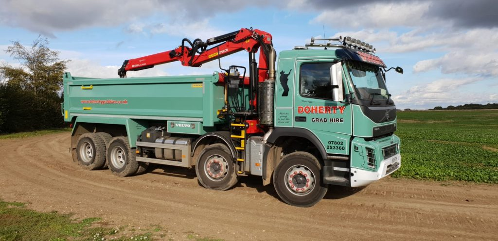 Doherty Grab Hire & Recycling Facilities in Herts, Beds, Bucks & North London