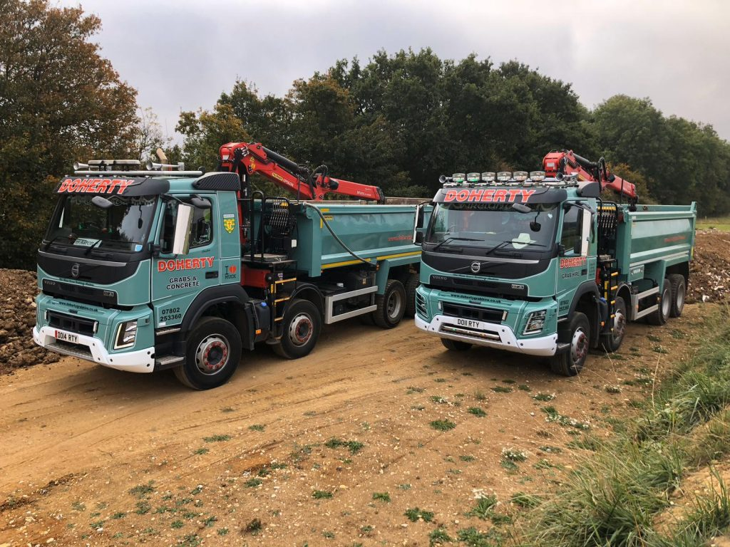 Doherty Grab Services-Supply and delivery of aggregates